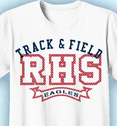 Track and Field Shirt Designs - Sportique - desn-336s1