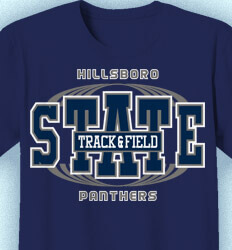 Track and Field Shirt Designs - State Track Meet - idea-194s1