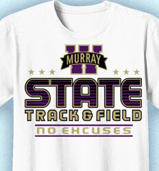 Track and Field Shirt Designs - Super State - cool-815s5