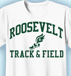 Track and Field Shirt Designs - Vintage - clas-460z6