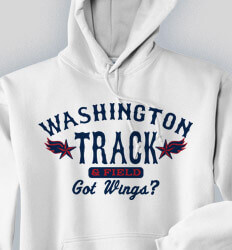 Track and Field Sweatshirts - Monterey Classic - desn-213m2