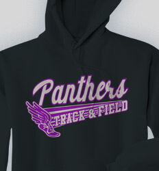 Track and Field Sweatshirts - Track Script - idea-189t1