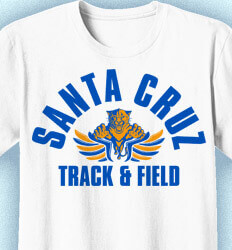 Track and Field T-Shirts - Classic Mascot Club - idea-182c1