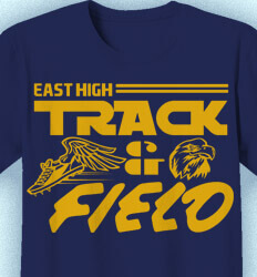Track and Field T-shirts - Eight Track - idea-180e1
