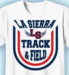 Track and Field T-shirts - Victory Track - idea-190v1