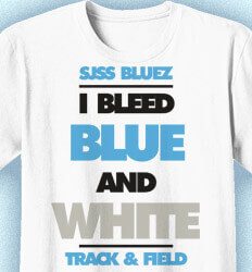 Track and Field T-shirts - Just That Good - clas-860v2