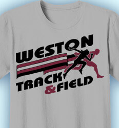 Track and Field T-shirts - All Around - clas-518c8