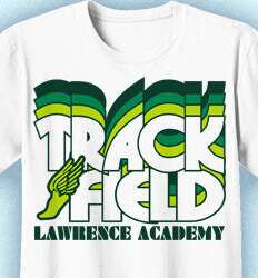Track and Field T-shirts - Nassau - clas-792d4