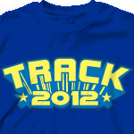 Track T Shirt - Star Tech desn-290s2