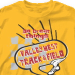 Track T Shirt - Checker Mania-5d7