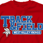 Track Team Shirts - Track Athletics-340t1