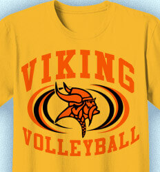 Volleyball T-shirts - Volleyball Intensity - idea-200v1