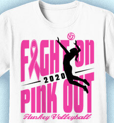 Volleyball Team Shirts - Fight On - cool-722f2