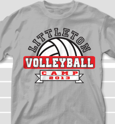 Volleyball camp t shirt designs cool custom volleyball for Athletic t shirt design ideas