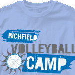 Custom Team Volleyball Shirts - Pacific Edge 273p2
