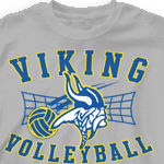 Volleyball T Shirt   Above The Net 282a2