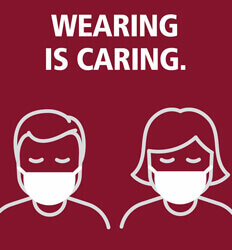 UMass Amherst - Wearing is Caring - Promotes Face Masks