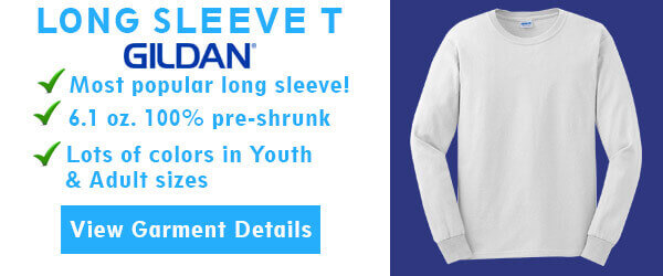 Classic Long Sleeve T by Gildan