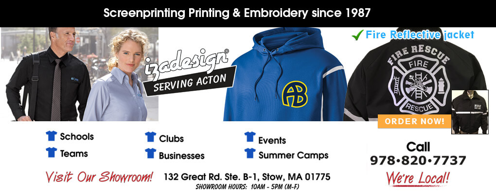 IZA Design Screen Printing and Embroidery in Acton, MA