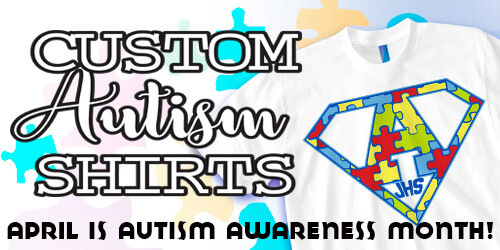 IZA Design - Custom Autism Shirt Design Collection