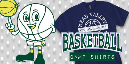 IZA Design - Custom Basketball Camp Shirt Design Collection