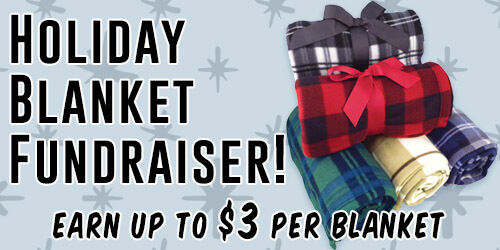 IZA Design - Holiday Blanket Fundraiser