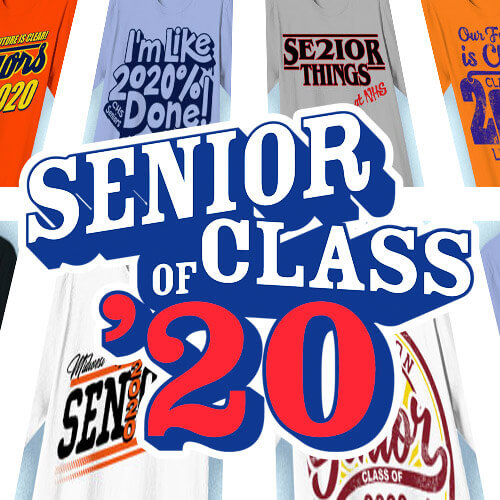 IZA Design - Senior Class Shirt Designs for 2020