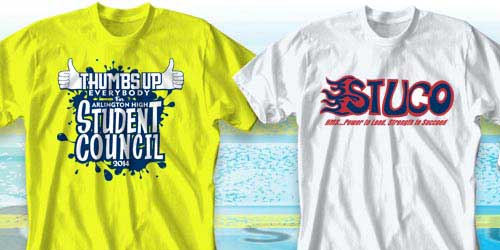 IZA Design: Cool T-Shirts for Senior Class, Student Council, and ...