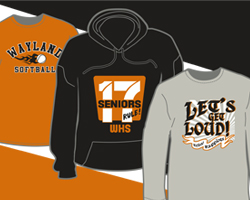 Wayland Apparel Ideas - Go Warriors